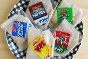 تکمیل بسته بندی تی بگ: تگ، لفافه